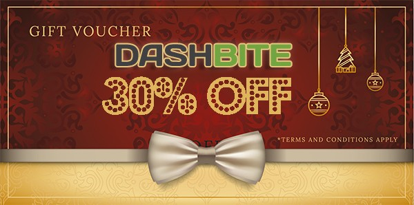 Dashbite Happy Holidays : 30% OFF coupon